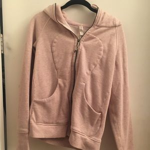 LuLu Lemon hooded zip up